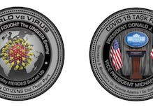 The White House Gift Shop is selling coronavirus commemorative coins now