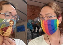 Baltimore leather bar is selling gay face masks & poppers-to-go to stay in business
