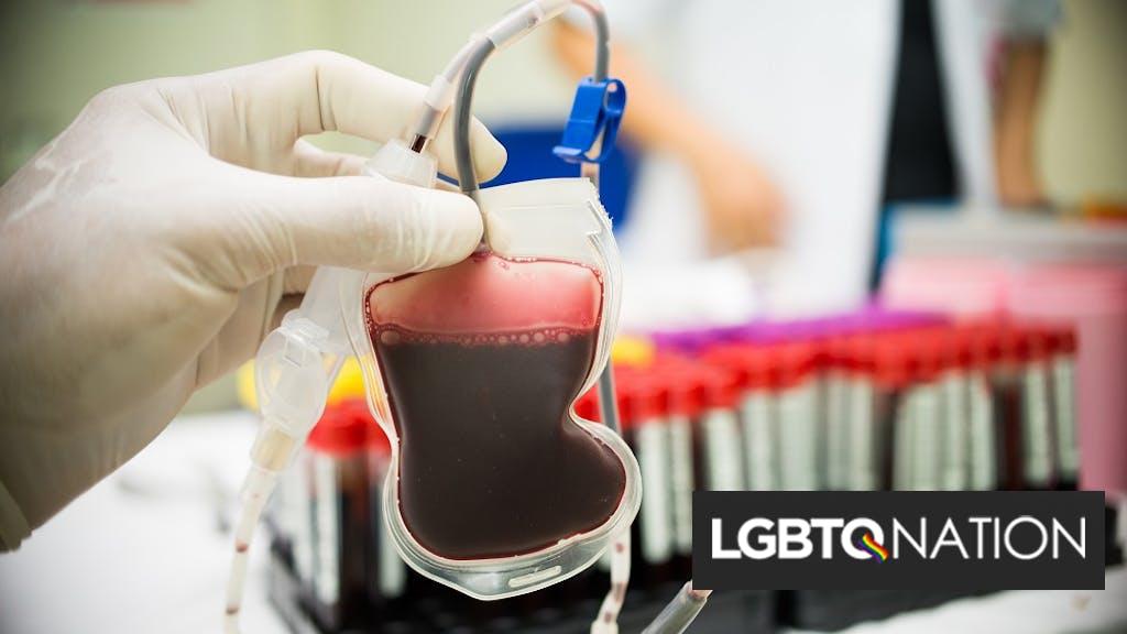 FDA loosens the gay blood ban in response to coronavirus pandemic