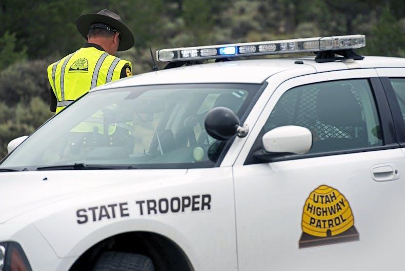 A police officer in Utah