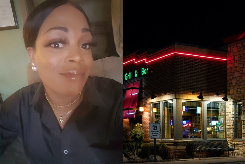 Berri Chaney says she was denied a job at Applebees after the manager found out she is transgender