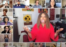 "This epic at-home celebrity performance from multiple ""Hairspray"" casts has gone viral"