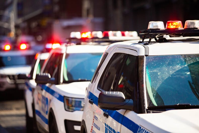 NYPD cruisers
