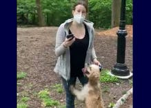 "White ""Karen"" calls cops on gay black man who asked her to leash her dog in Central Park"