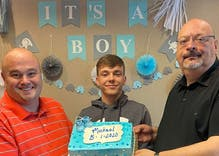 Gay couple adopts foster son via Zoom because they refused to wait any longer