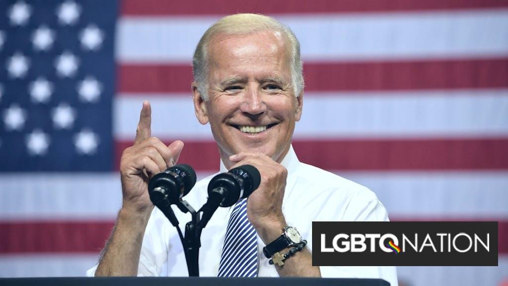 "Joe Biden condemns Poland's ""LGBT-free zones"" because ""LGBTQ+ rights are human rights"""