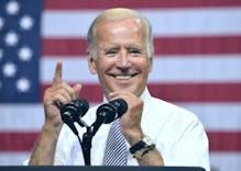 Joe Biden gets an endorsement from the National LGBT Chamber of Commerce