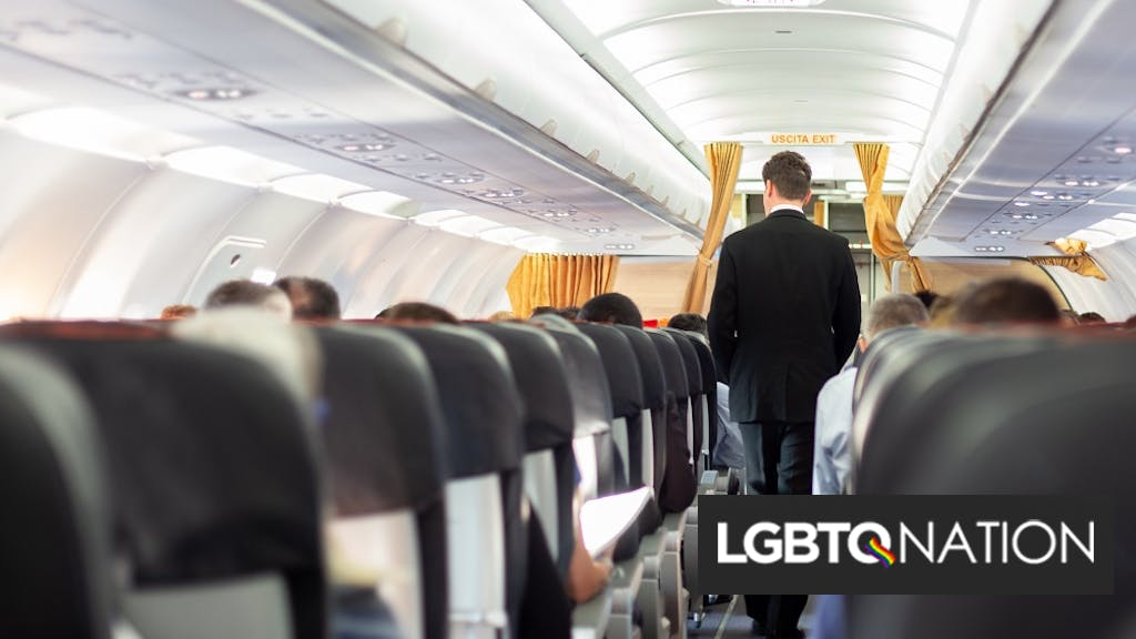 "Passenger who squeezed flight attendant's butt & called him ""gay boy"" gets sent to prison"