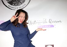 "Fran Drescher posts coronavirus cell phone conspiracy theory because ""God is speaking"""