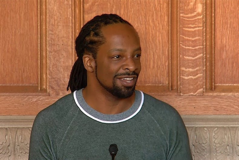 Pulitzer prize-winning poet, Jericho Brown