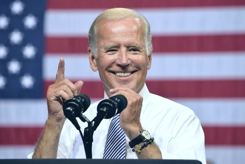 Joe Biden, Human Rights Campaign, National Center for Transgender Equality