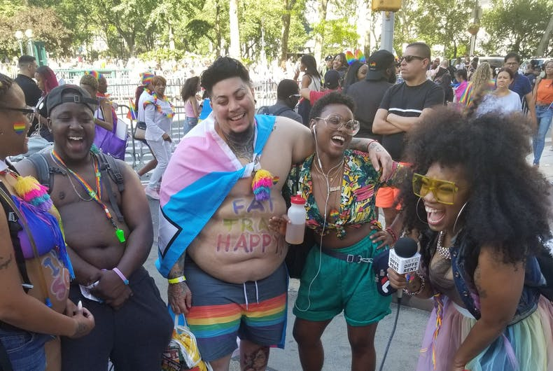 Pride in Pictures: First time out