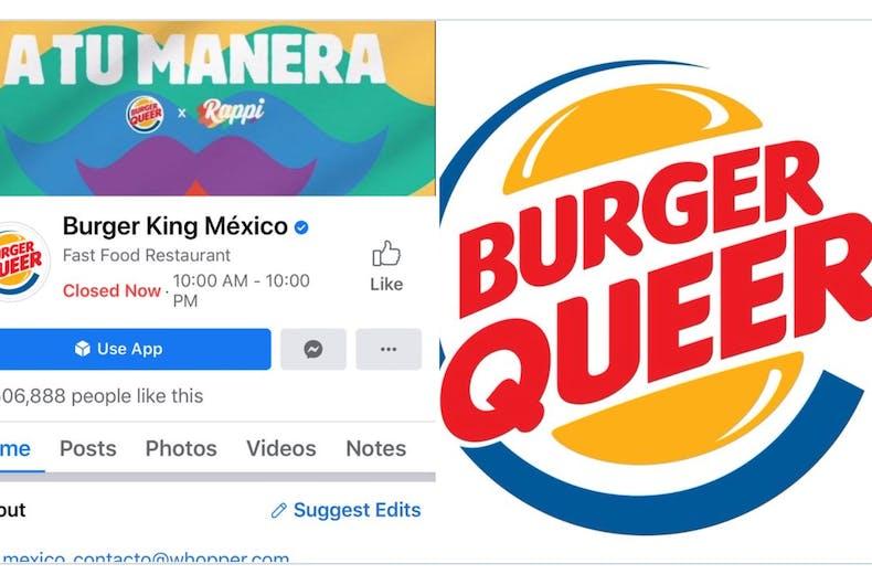 Burger King Mexico alterou seu logotipo para