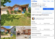 Zillow listings will now show whether LGBTQ people are protected from discrimination in that city