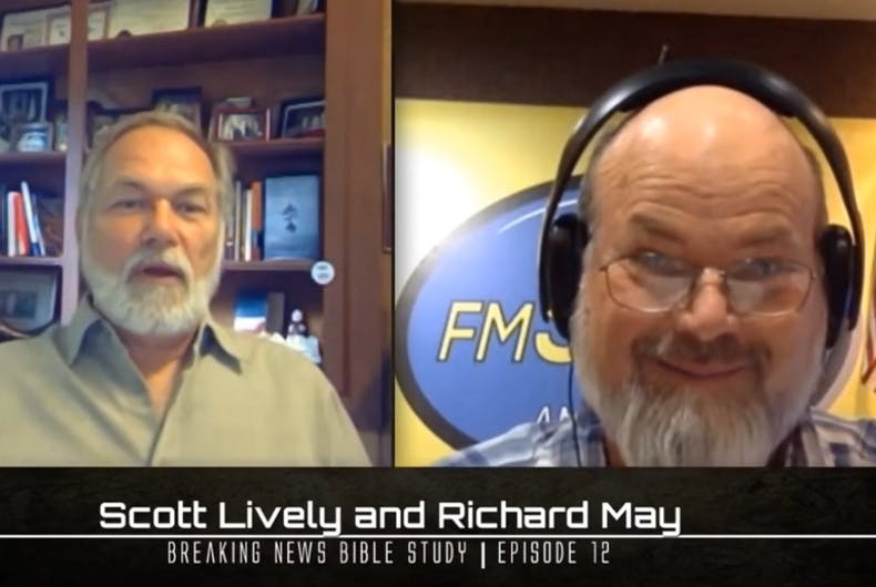 Scott Lively and Richard May