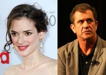 Winona Ryder accuses Mel Gibson of anti-gay, antisemitic comments. He has already lost work.