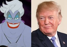 What do you get when you cross Donald Trump with Ursula? A poor deplorable troll.