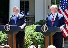 "Donald Trump congratulates Poland's anti-LGBTQ president & calls him ""my friend"""