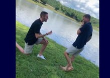 A man proposes to his boyfriend in the sweetest viral video you'll see today