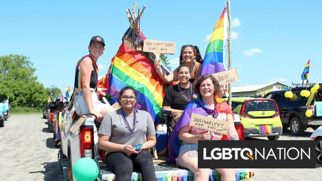"""Town rejects Pride resolution because there's no """"Straight Pride."""" So they got ambushed."""