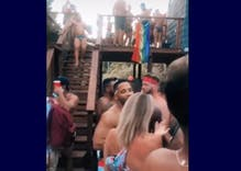 Outrage in NYC as hundreds of gay men flaunt COVID precautions to party on Fire Island