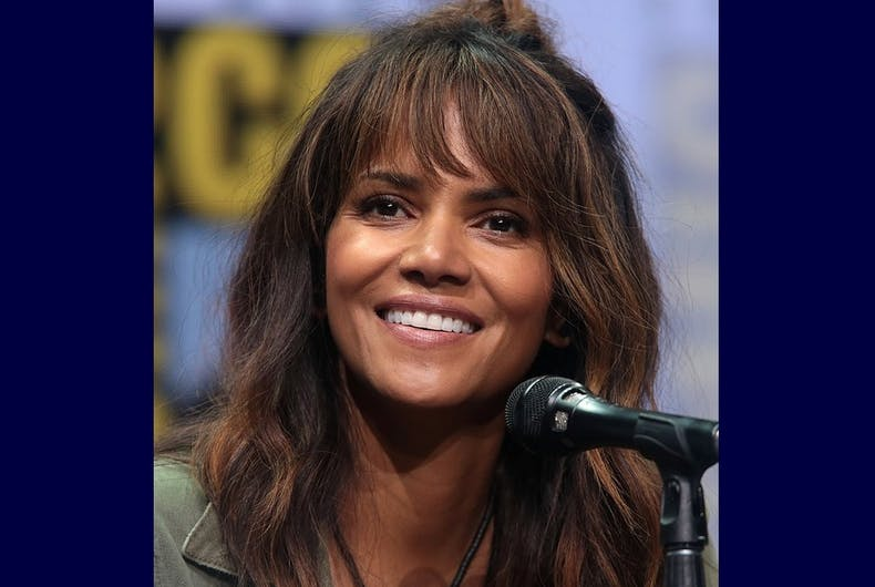Halle Berry at the 2017 San Diego Comic-Con International.