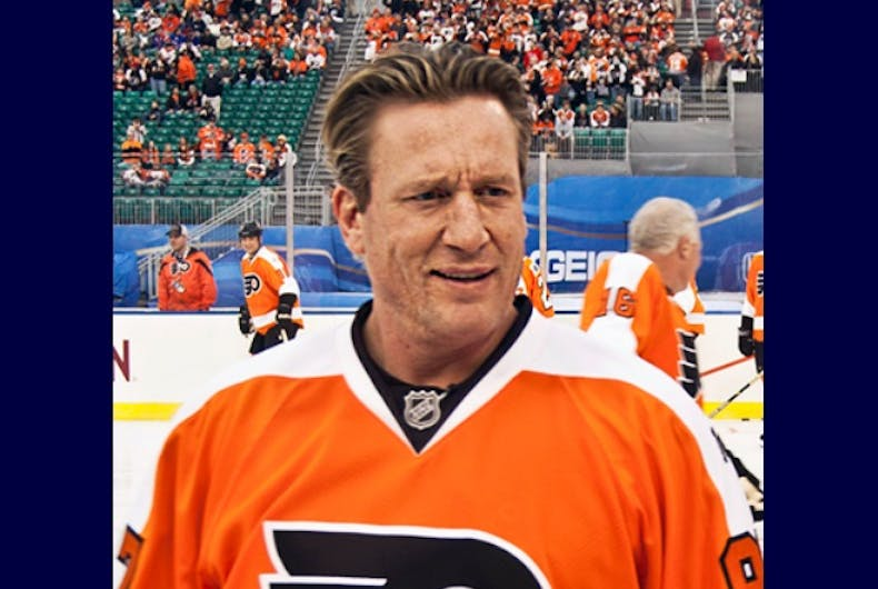 Jeremy Roenick at the 2012 NHL Winter Classic Alumni Game