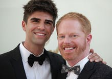 Modern Family star Jesse Tyler Ferguson & his husband had a baby boy