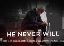 New Donald Trump ad mocks Joe Biden for praying