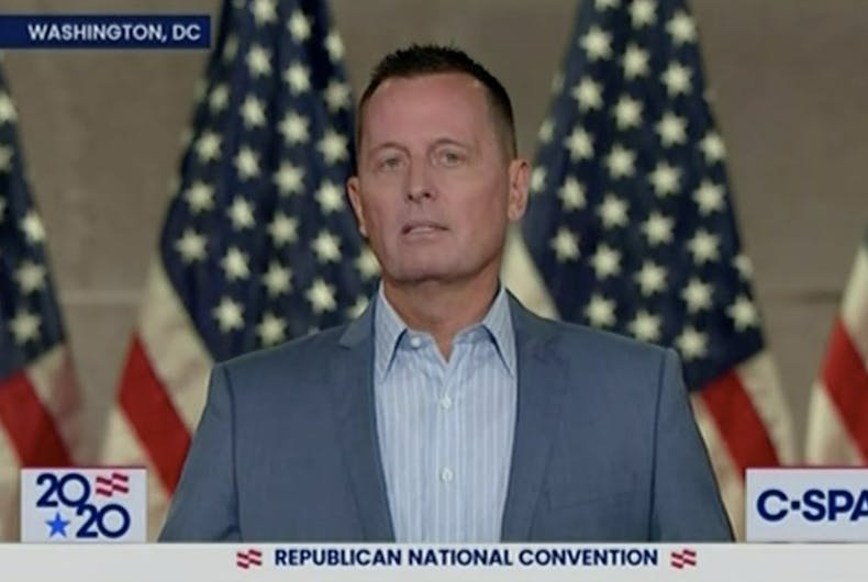 Richard Grenell speaks at the Republican National Convention