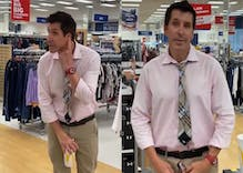 Gay man goes on anti-mask rant in discount store before exposing himself to employees