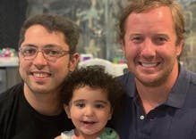 Federal court defies Trump & grants U.S. citizenship to gay dads' two-year-old daughter