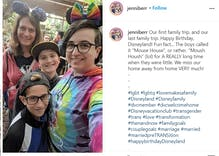 She came out as trans & her wife came out as lesbian on the same night. They're still together.