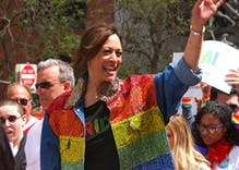 "Newsweek runs ""birther"" editorial from antigay activist claiming Harris is ineligible to be Veep"