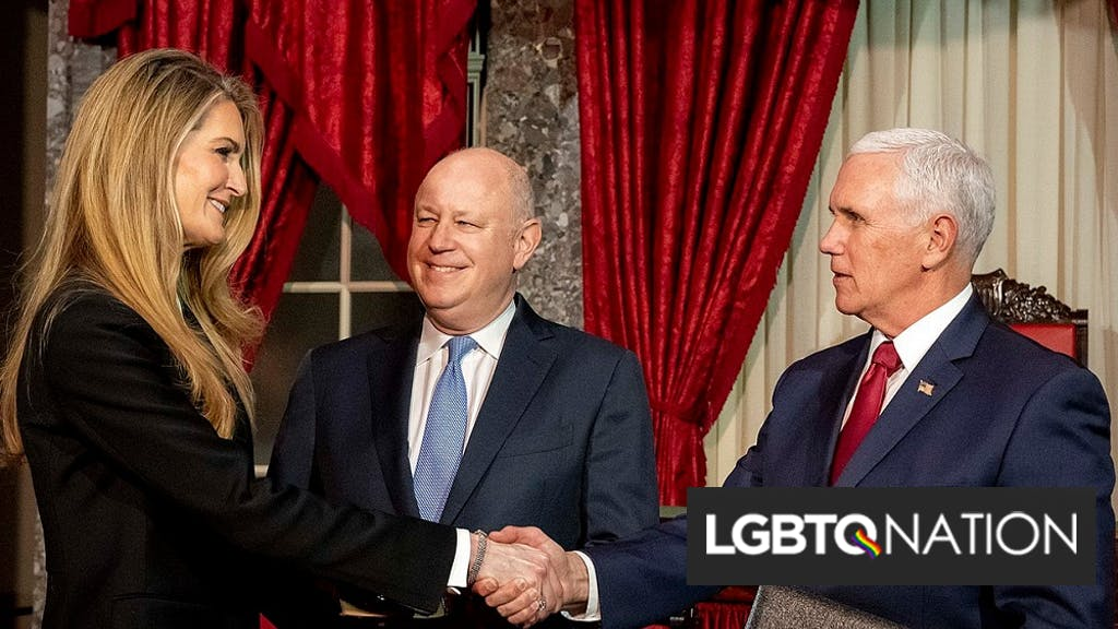 Kelly loeffler mike pence