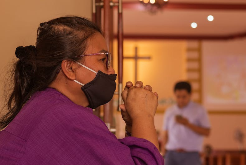 Florida pastor sues over mask mandate because his church can't pray if they wear masks