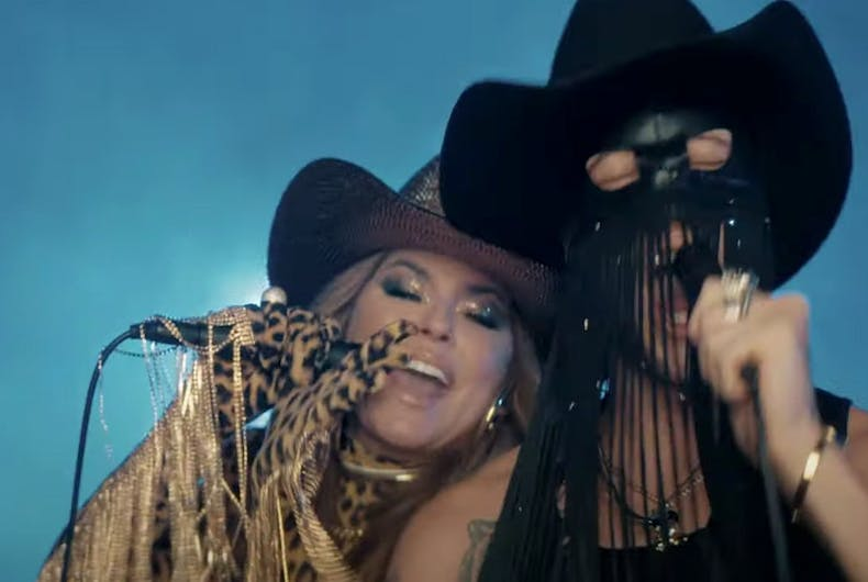 Shania Twain and Orville Peck in
