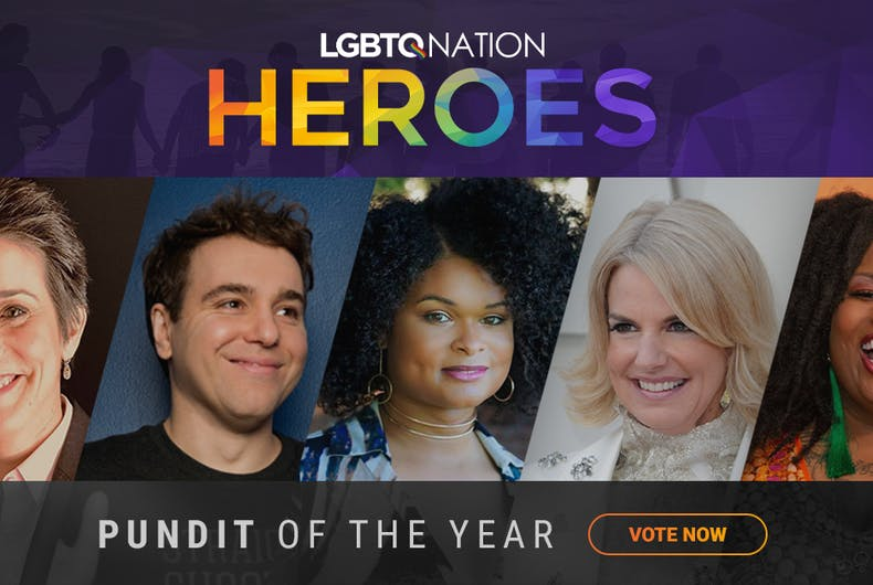 pundit queer pundits mainstream represented community lgbtq nation did which these year