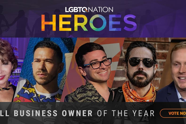 Who will be LGBTQ Nation's Small Business Owner of the Year?