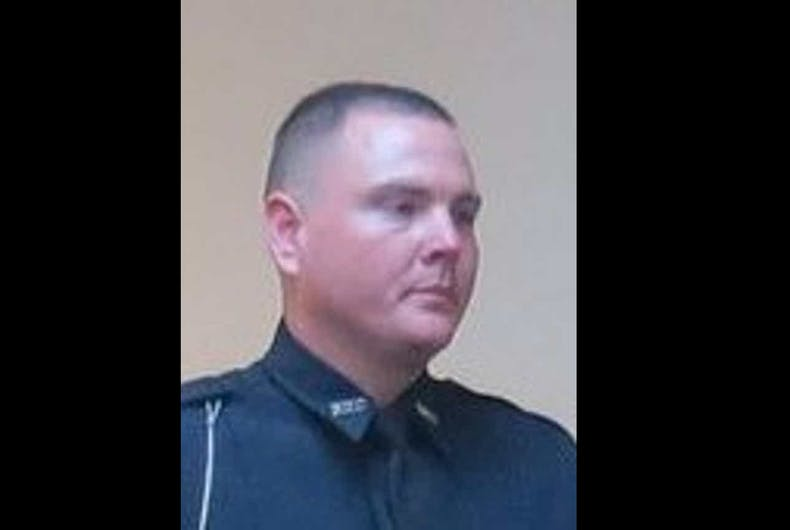 Former officer Timothy Daughtry