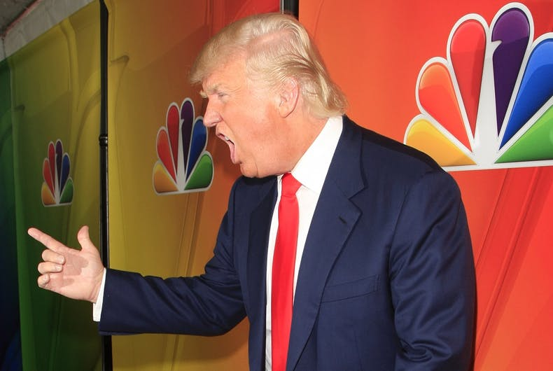 Donald Trump at NBC's 2015 Winter TCA Press Tour