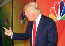"Donald Trump allegedly called a contestant on The Apprentice a ""Black f**"""