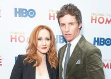 "Eddie Redmayne stands up for J.K. Rowling against internet ""vitriol"""