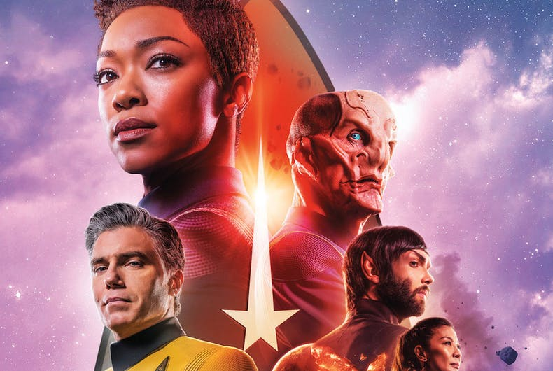 Star Trek Discovery, LGBTQ, transgender, non-binary, queer characters