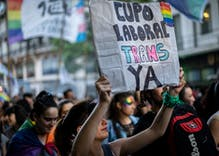Argentina sets aside 1% of jobs for transgender people