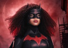 "Javicia Leslie's redesigned Batsuit on ""Batwoman"" is incredible. Here's your first look."