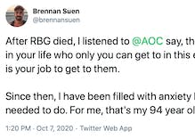 Gay man's heartwarming story about his Republican grandma made AOC proud