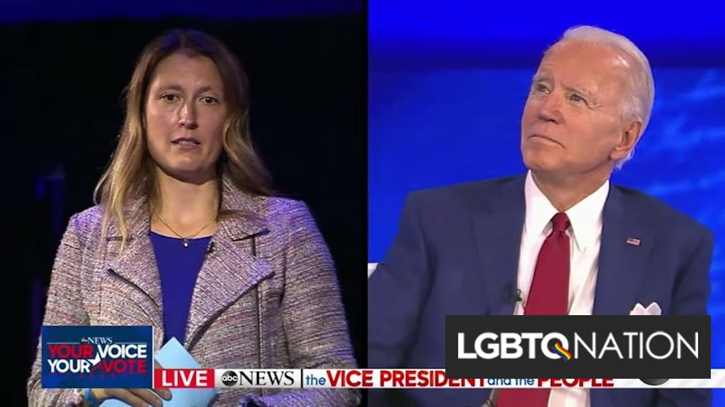 """Conservatives outraged that Joe Biden promised to """"flat out change"""" anti-transgender laws"""
