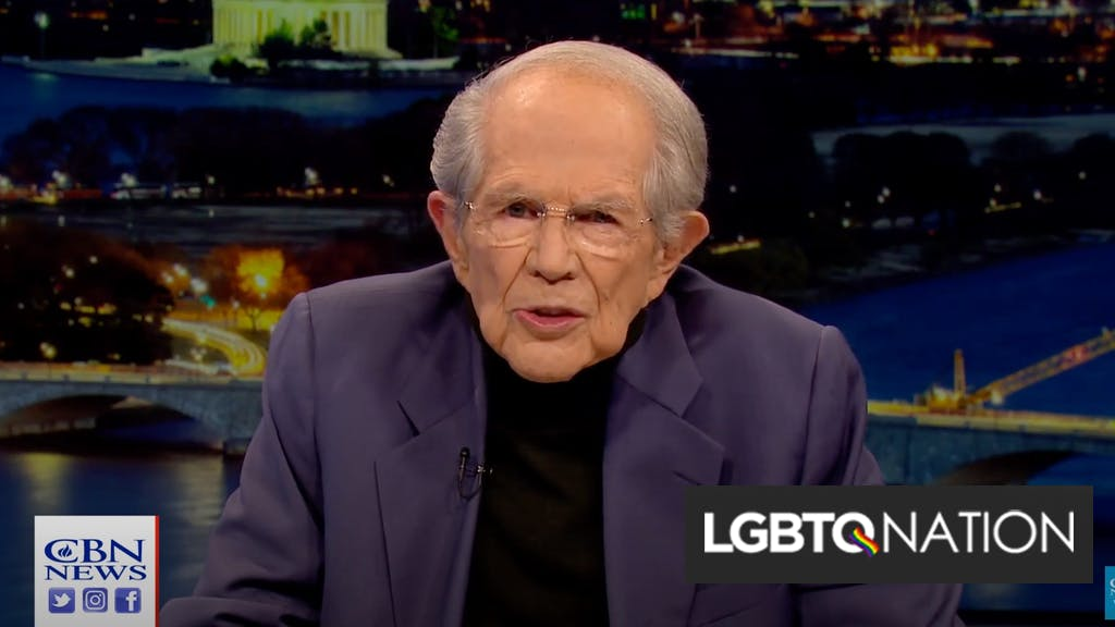 Pat Robertson predicts Trump will be reelected & it will spark the end of the world