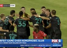 A gay pro athlete was called a slur during a game. So his whole team forfeited in solidarity.